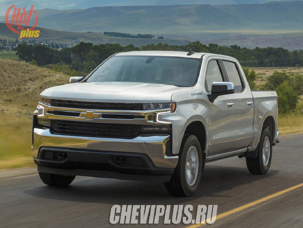 Серебристый Chevrolet Tahoe 5-gen