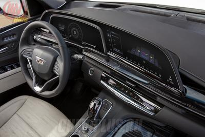 Новый Cadillac Escalade - салон